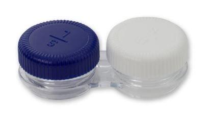 Doppelkammer Kontaktlinsenbehälter