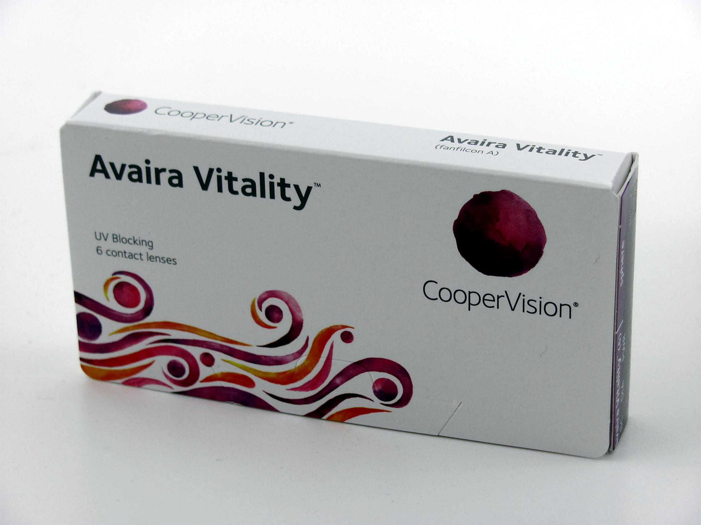 Avaira Vitality Monatslinsen 6er Box