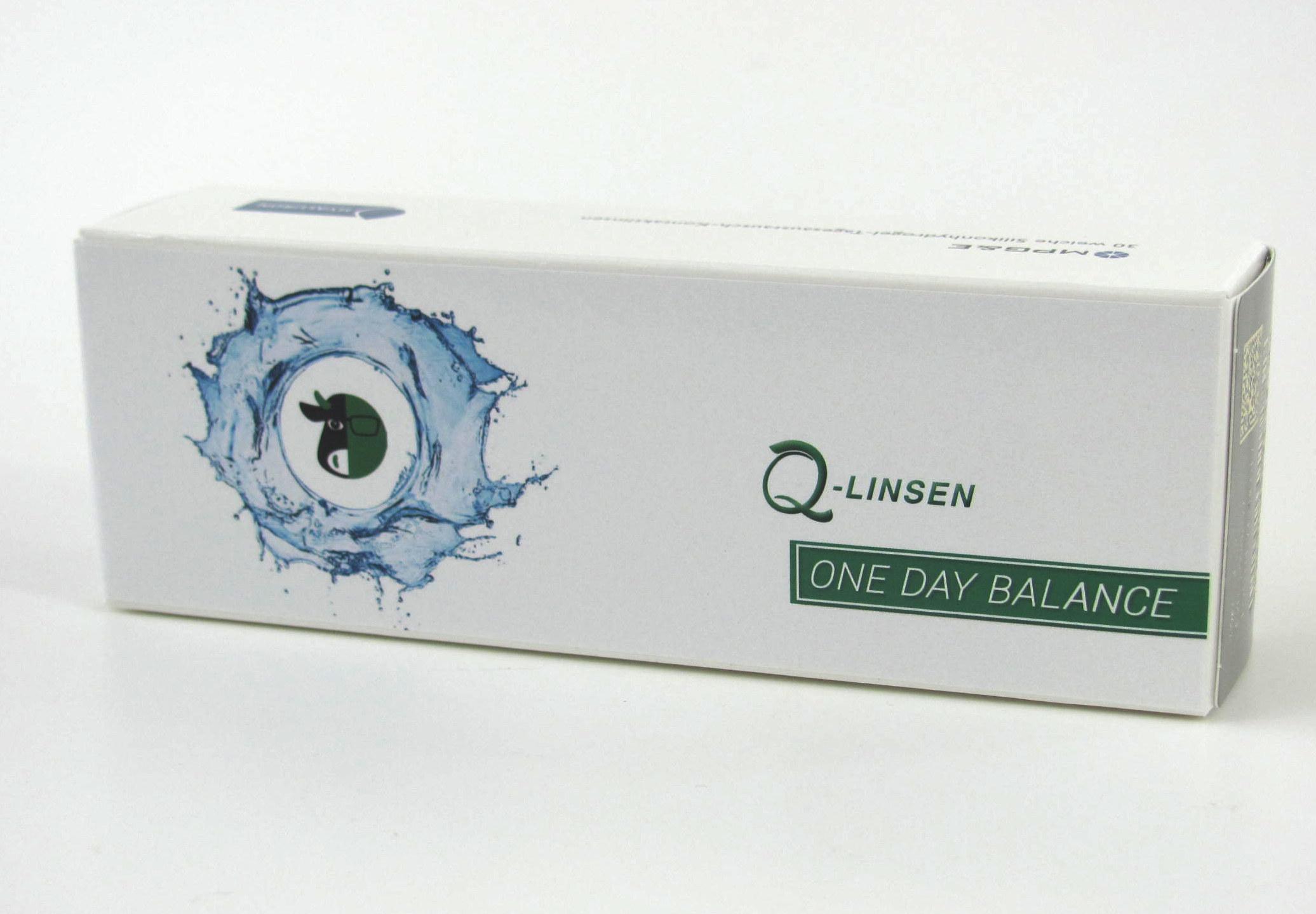 Q-Linsen One Day Balance Premium 30er Box
